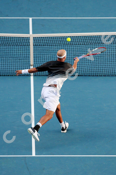 2010 Australian Tennis Open - BLAKE, James (USA) vs DEL POTRO, Juan Martin (ARG) [4] - [photographer] Mark Peterson - 2311