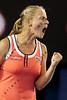 2010 Australian Tennis Open - DOKIC, Jelena (AUS) vs KLEYBANOVA, Alisa (RUS) [27] - [photographer] Mark Peterson - 1677