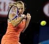 2010 Australian Tennis Open - DOKIC, Jelena (AUS) vs KLEYBANOVA, Alisa (RUS) [27] - [photographer] Mark Peterson - 1482