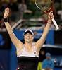 2010 Australian Tennis Open - DOKIC, Jelena (AUS) vs KLEYBANOVA, Alisa (RUS) [27] - [photographer] Mark Peterson - 0844