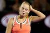 2010 Australian Tennis Open - DOKIC, Jelena (AUS) vs KLEYBANOVA, Alisa (RUS) [27] - [photographer] Mark Peterson - 1656