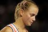 2010 Australian Tennis Open - DOKIC, Jelena (AUS) vs KLEYBANOVA, Alisa (RUS) [27] - [photographer] Mark Peterson - 1568