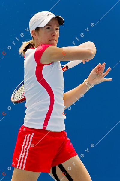 2010 Australian Tennis Open - [practice] Justine Henin - [photographer] Mark Peterson - 3810