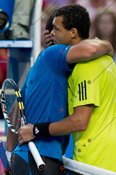 2010 Australian Tennis Open - TSONGA, Jo-Wilfried (FRA) [10] vs ALMAGRO, Nicolas (ESP) [26] - [photographer] Mark Peterson - 2901