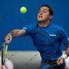 2010 Australian Tennis Open - TSONGA, Jo-Wilfried (FRA) [10] vs ALMAGRO, Nicolas (ESP) [26] - [photographer] Mark Peterson - 2765