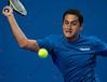 2010 Australian Tennis Open - TSONGA, Jo-Wilfried (FRA) [10] vs ALMAGRO, Nicolas (ESP) [26] - [photographer] Mark Peterson - 2764