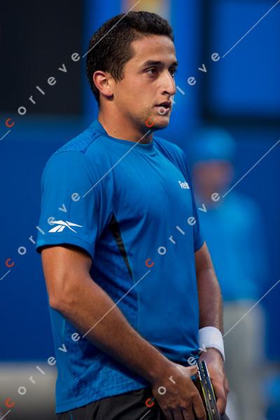 2010 Australian Tennis Open - TSONGA, Jo-Wilfried (FRA) [10] vs ALMAGRO, Nicolas (ESP) [26] - [photographer] Mark Peterson - 2785