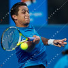 2010 Australian Tennis Open - TSONGA, Jo-Wilfried (FRA) [10] vs ALMAGRO, Nicolas (ESP) [26] - [photographer] Mark Peterson - 2745