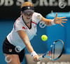 2010 Australian Tennis Open - CLIJSTERS, Kim (BEL) [15] vs TANASUGARN, Tamarine (THA) - [photographer] Mark Peterson - 1614