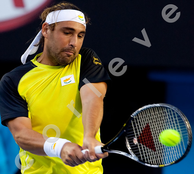2010 Australian Tennis Open - HEWITT, Lleyton (AUS) [22] vs BAGHDATIS, Marcos (CYP) - [photographer] Mark Peterson - 5238