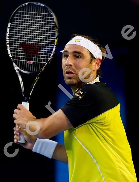 2010 Australian Tennis Open - HEWITT, Lleyton (AUS) [22] vs BAGHDATIS, Marcos (CYP) - [photographer] Mark Peterson - 5351