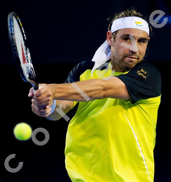 2010 Australian Tennis Open - HEWITT, Lleyton (AUS) [22] vs BAGHDATIS, Marcos (CYP) - [photographer] Mark Peterson - 5315
