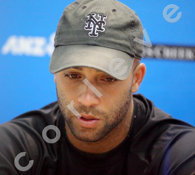 2010 Australian Tennis Open - Blake Interview - [photographer] Mark Peterson - 2677