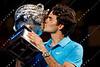 2010 Australian Tennis Open - Roger Federer vs Andy Murray - [photographer] Mark Peterson - 9352