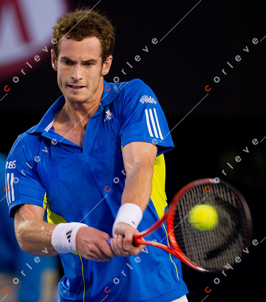2010 Australian Tennis Open - Roger Federer vs Andy Murray - [photographer] Mark Peterson - 3497