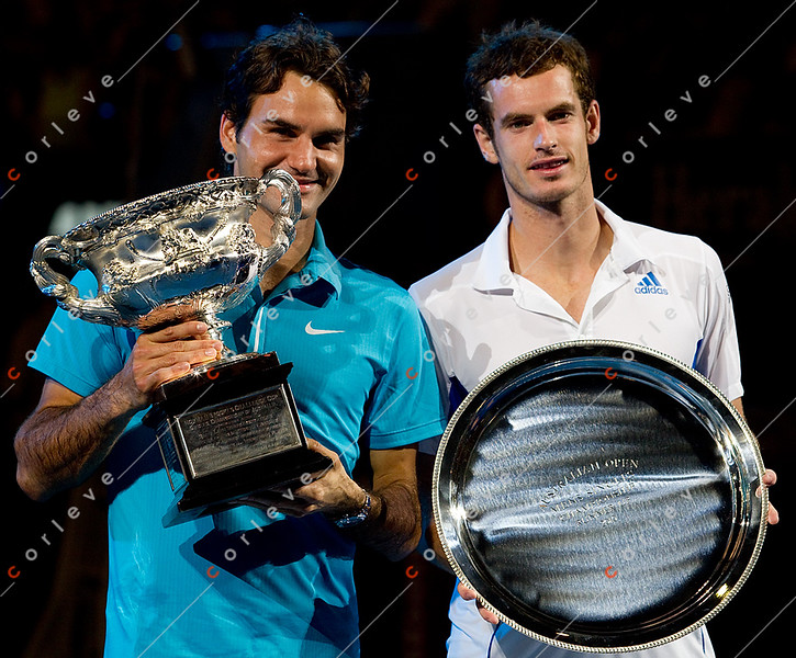 2010 Australian Tennis Open - Roger Federer vs Andy Murray - [photographer] Mark Peterson - 9291