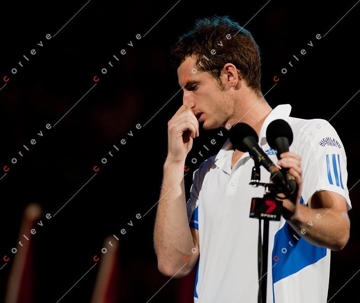 2010 Australian Tennis Open - Roger Federer vs Andy Murray - [photographer] Mark Peterson - 8612