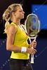 2010 Australian Tennis Open - SHARAPOVA, Maria (RUS) [14] vs KIRILENKO, Maria (RUS) - [photographer] Mark Peterson - 0127