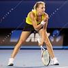 2010 Australian Tennis Open - SHARAPOVA, Maria (RUS) [14] vs KIRILENKO, Maria (RUS) - [photographer] Mark Peterson - 0125