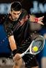 2010 Australian Tennis Open - DJOKOVIC, Novak (SRB) [3] vs TSONGA, Jo-Wilfried (FRA) [10] - [photographer] Mark Peterson - 8610