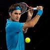 2010 Australian Tennis Open - FEDERER, Roger (SUI) [1] vs HANESCU, Victor (ROU) - [photographer] Mark Peterson - 0247