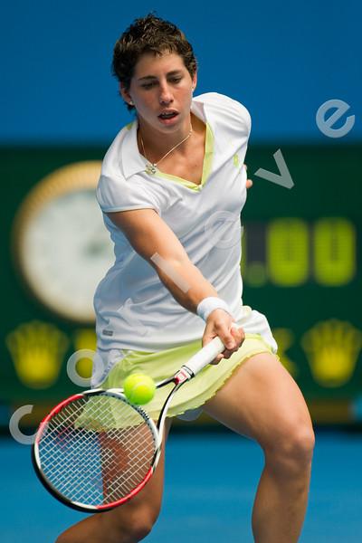 2010 Australian Tennis Open - WILLIAMS, Serena (USA) [1] vs SUAREZ NAVARRO, Carla (ESP) [32] - [photographer] Mark Peterson - 2010