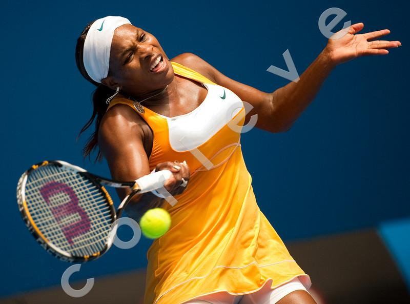2010 Australian Tennis Open - WILLIAMS, Serena (USA) [1] vs SUAREZ NAVARRO, Carla (ESP) [32] - [photographer] Mark Peterson - 2010 (8)