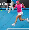 2010 Australian Tennis Open - ZVONAREVA, Vera (RUS) [9] vs DULKO, Gisela (ARG) - [photographer] Natasha Peterson - 0001