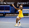 2010 Australian Tennis Open - Serena Williams vs Justine Henin - [photographer] Mark Peterson - 8059