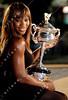 2010 Australian Open - Serena Williams Finalist Photo
