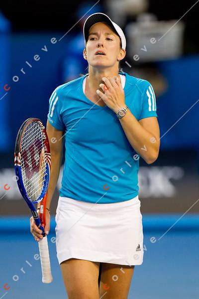 2010 Australian Open - Women's Final - Serena Williams vs Justine Henin