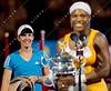 2010 Australian Tennis Open - Serena Williams vs Justine Henin - [photographer] Mark Peterson - 8587