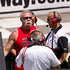 """Paul Teutul, Sr., of """"Orange County Choppers"""" served as Grand Marshall."""