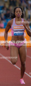 IAAF DIAMOND LEAGUE-Birmingham Natasha Hastings (USA) in the 400m