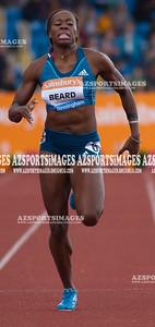 IAAF DIAMOND LEAGUE-Birmingham  Jessica Beard(USA) 2nd in 400m