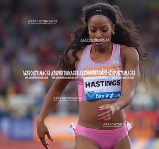 IAAF DIAMOND LEAGUE-Birmingham  Natasha Hastings (USA)