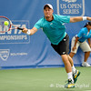 Lleyton Hewitt (AUS) lunges for a forehand against Phillip Simmonds (USA)during their first round match.  Lleyton Hewitt defeated Phillip Simmonds in straight sets 6-4, 6-4 in First Round Action on Tuesday in the Atlanta Tennis Championships at the Racquet Club of the South in Norcross, GA.