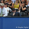 ESPN's analyst Brad Gilbert gives courtside commentary during the championship match.  Mardy Fish defeated John Isner in three sets 3-6, 7-6, 6-2 in the Championship Match on Sunday in the Atlanta Tennis Championships at the Racquet Club of the South in Norcross, GA.