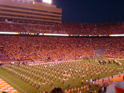 UT Band pre-game.