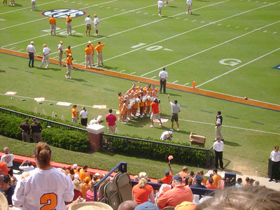 UT Cheer Team.