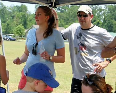 2011 AUSTRALIAN RULES FOOTBALL:  Baton Rouge Tigers vs Dallas, at J. S. Clark park in Baton Rouge on June 11, 2011