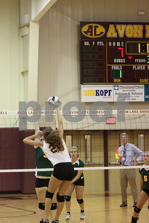 AVON LAKE-AMHERST VOLLEYBALL  9-6-2012
