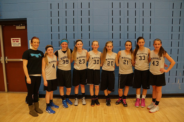 Abby 7th Grade Basketball 2014