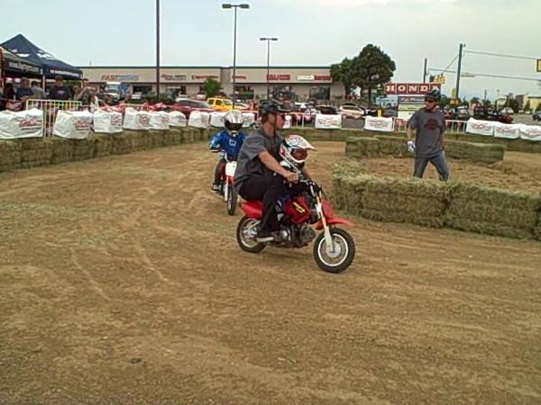 Abby and Aidan Dirt Bike School