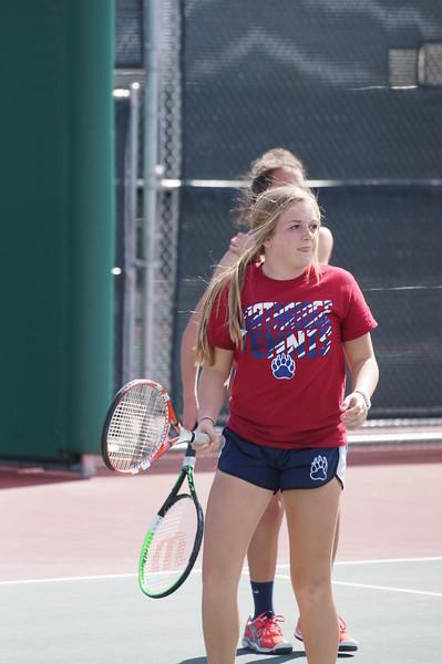 Abby and Mackenzie Griz Tennis 2016