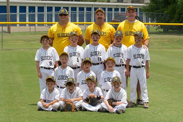 Sliders VS Collierville 7's 21 June 2012