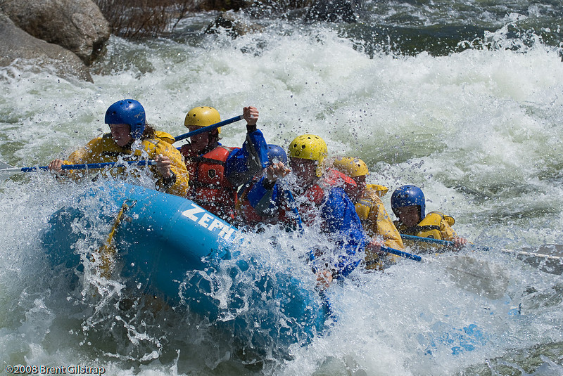 Rafting on the Merced River III