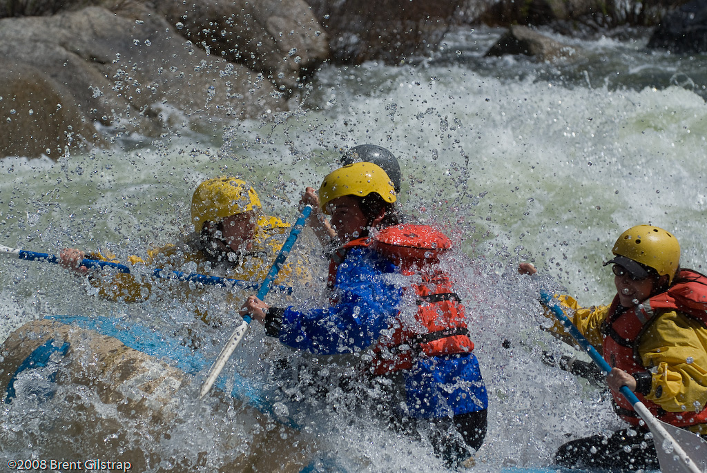 Rafting on the Merced River I