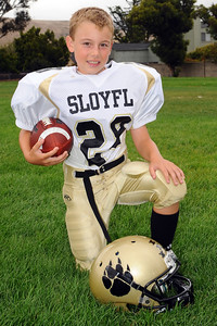 Max Lober - 3rd year in Youth Football