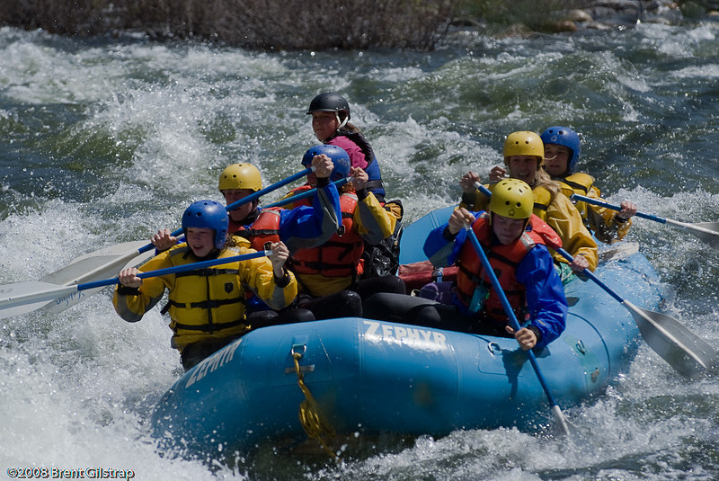 Rafting on the Merced River II